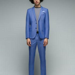 GABIANO Мужской костюм светло-голубой.