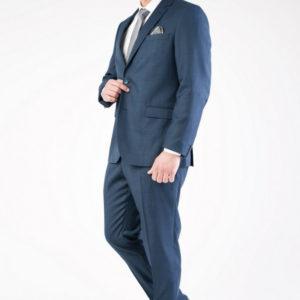 Мужской костюм двойка синий.